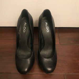 Aldo black heel